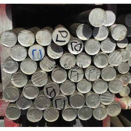میلگرد آلومینیوم آلیاژی 6061 T651 قطر 25 میل