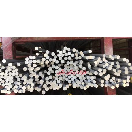 میلگرد آلومینیوم آلیاژی 6061 T651 قطر 10 میل