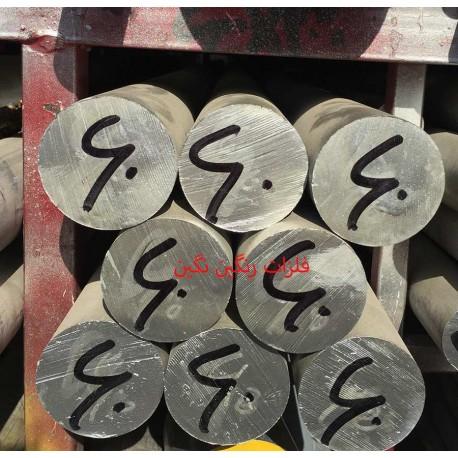 میلگرد آلومینیوم آلیاژی 6061 T651 قطر 60 میل